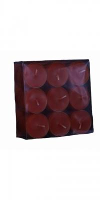 Teelichte rubinrot-26